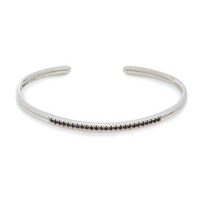 SWAROVSKI BANGLE SILVER